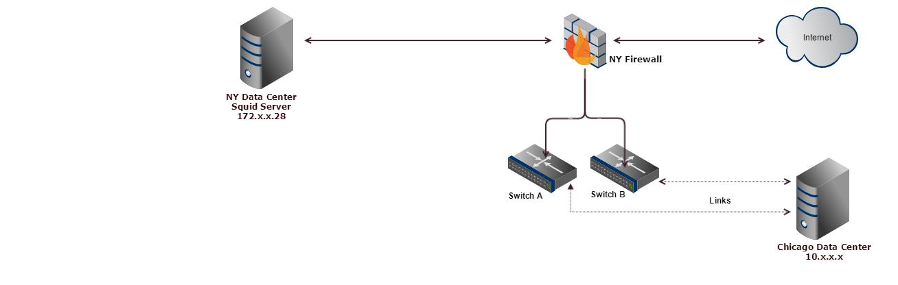 Forward non standard ports to the internet via Squid