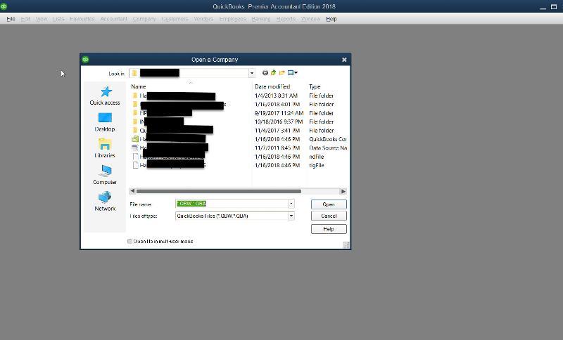 QuickBooks-open-company-file