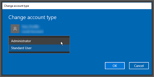 Create a new Microsoft Account User Profile in Windows 10