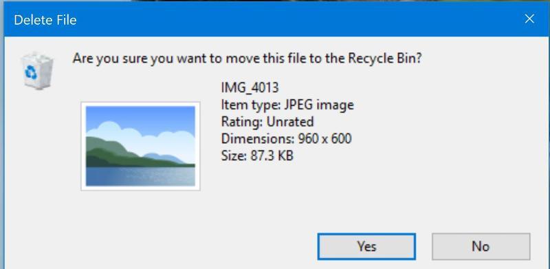 Windows Photo Viewer No Photo