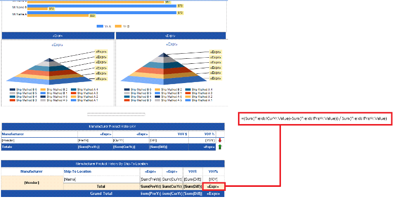 SSRS Report Design Screenshot