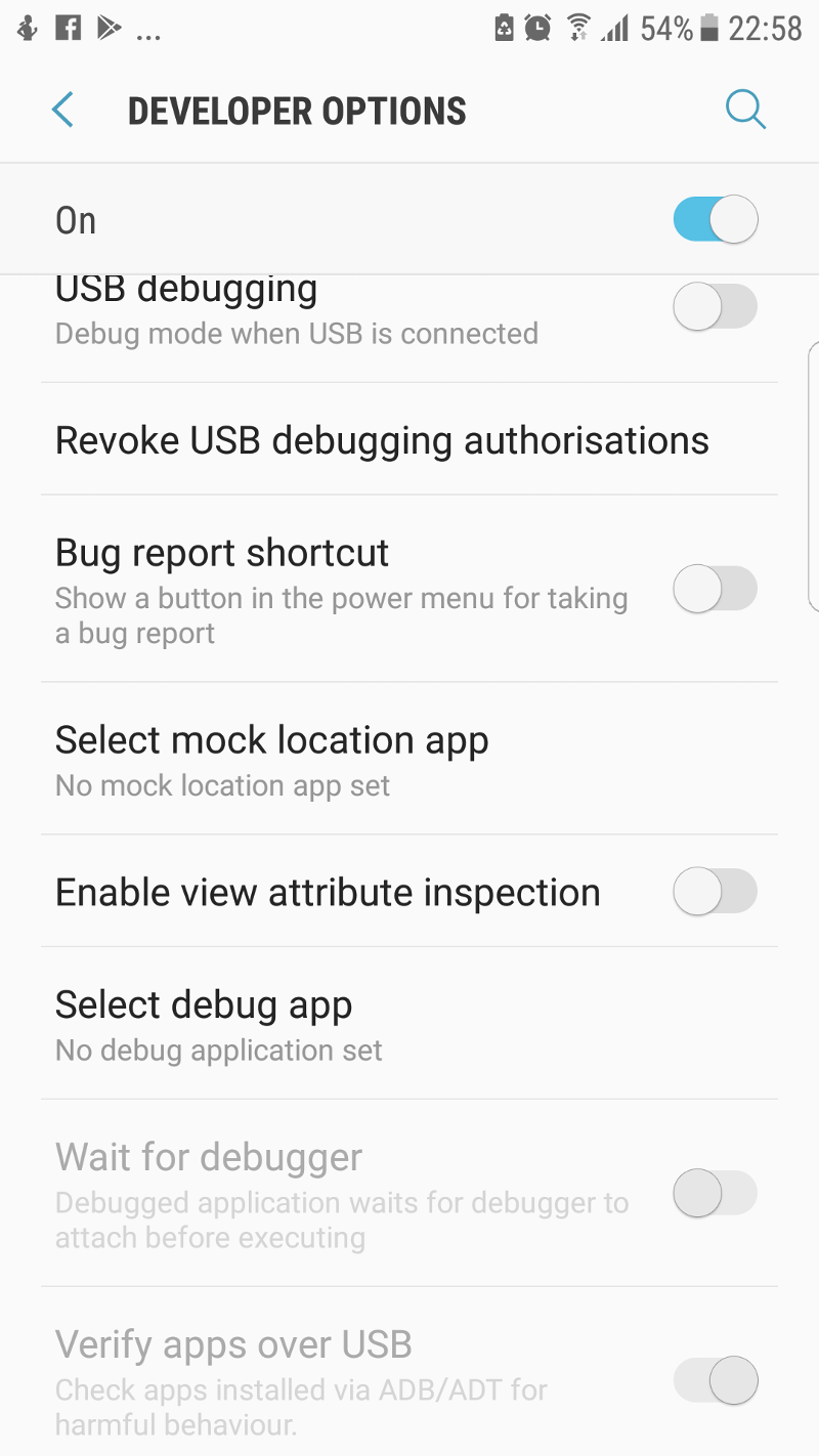 Select mock location app