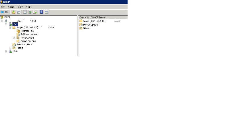 DHCP 192.168.1.x