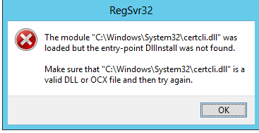 Certificate authority templates could not be loaded dc5 register dll errorg yelopaper Choice Image