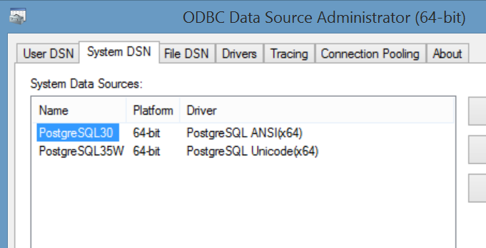 Connecting to Postgress from VBA