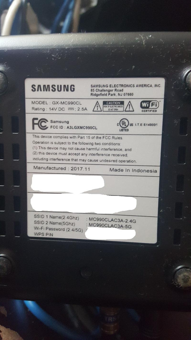 Samsung GX-MC990CL