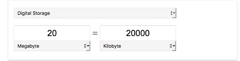 Google Storage Calc