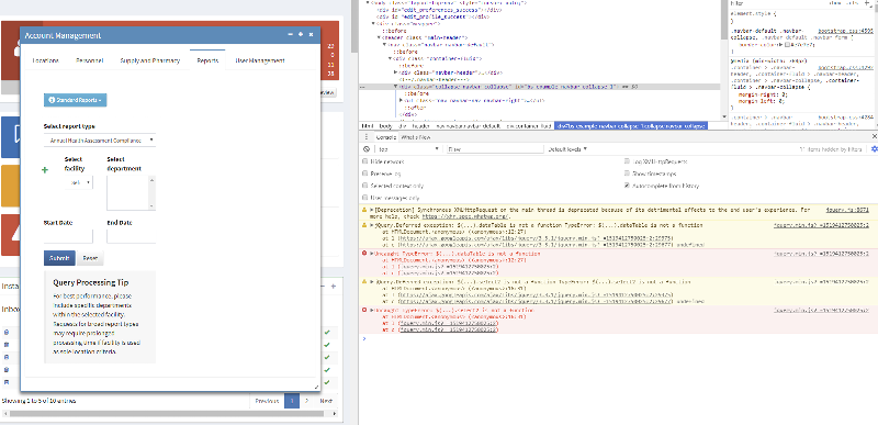 screenshot of the errors I'm trying to solve