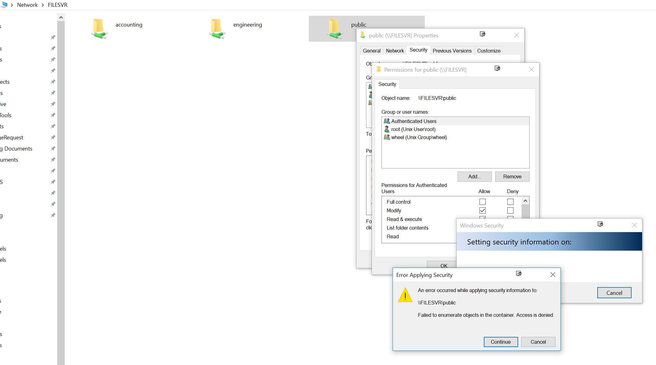 How do I bind Windows Authentication to FreeNAS SMB Shares?