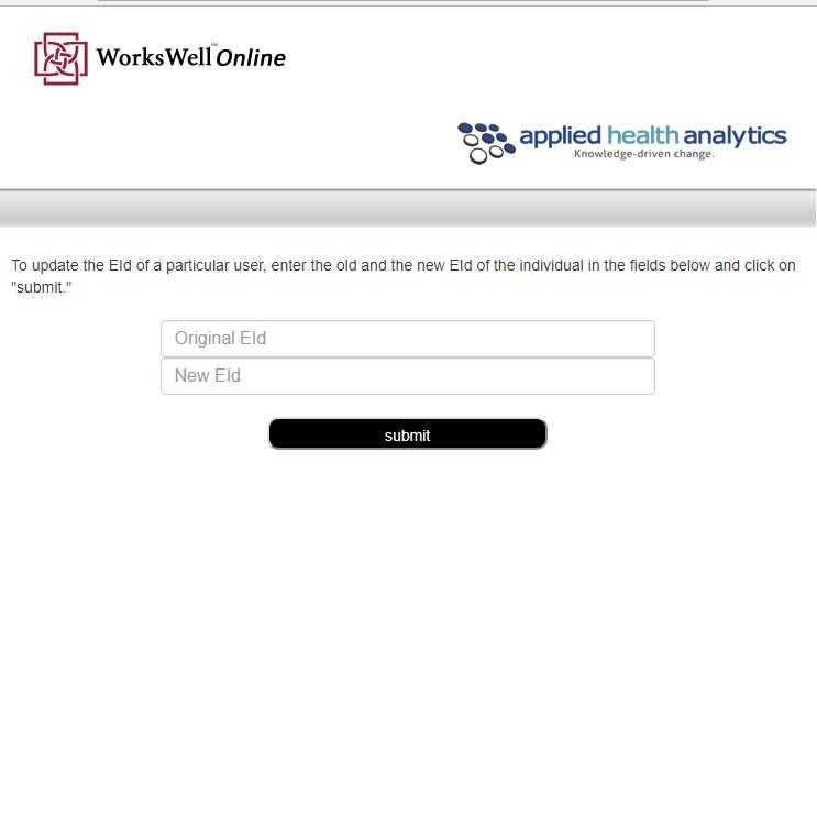 screenshot of webpage header