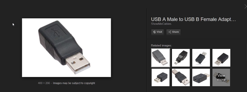 USB-F-to-M-Adapte