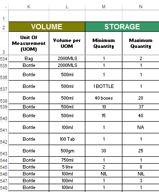 Sample workbook screenshot