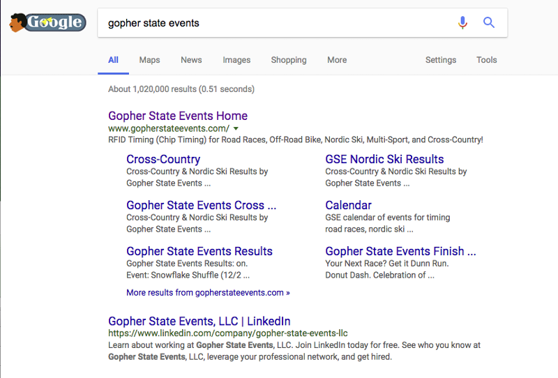 gopher state events