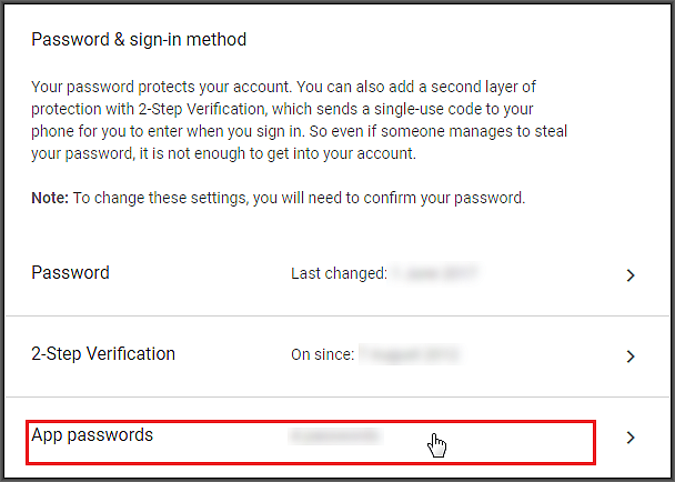 HOW TO: Solve a Repeating Password Error when Setting up