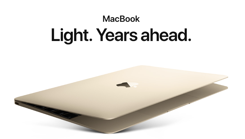 macbook landing page