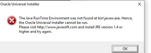 please this is the error i get when i try installing oracle 12c