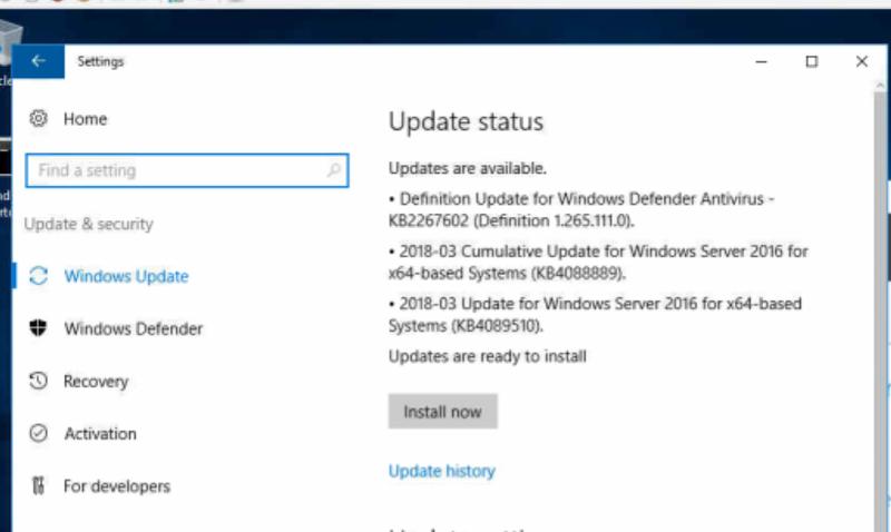 Svr-2016-Updates-To-Install