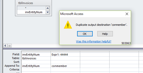 ms access 2010 runtime error 3075 missing operator