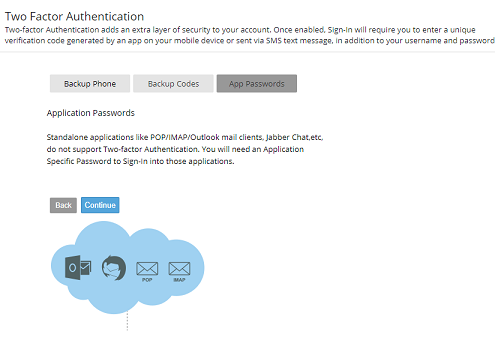 Thunderbird Do Not Support Zoho Two Step Authentication