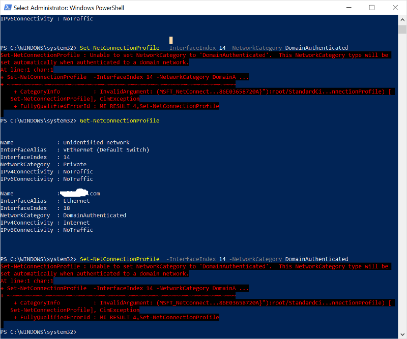 PowerShell-Error-Message