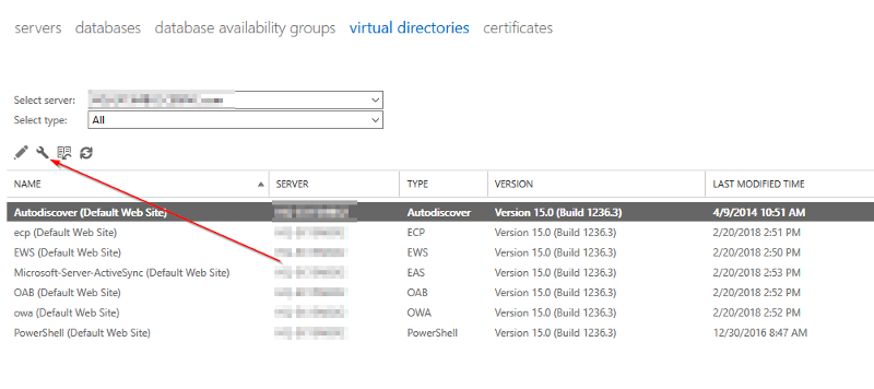 ECP - Virtual Directory [Configure External Access]