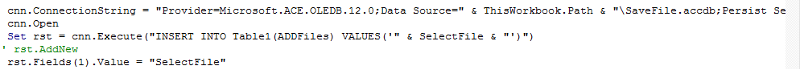 This is the code were I am getting error