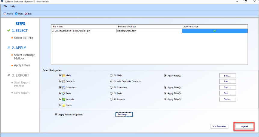 How to Import Outlook Calendar to Exchange Server