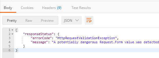 How to remove escape char in json output