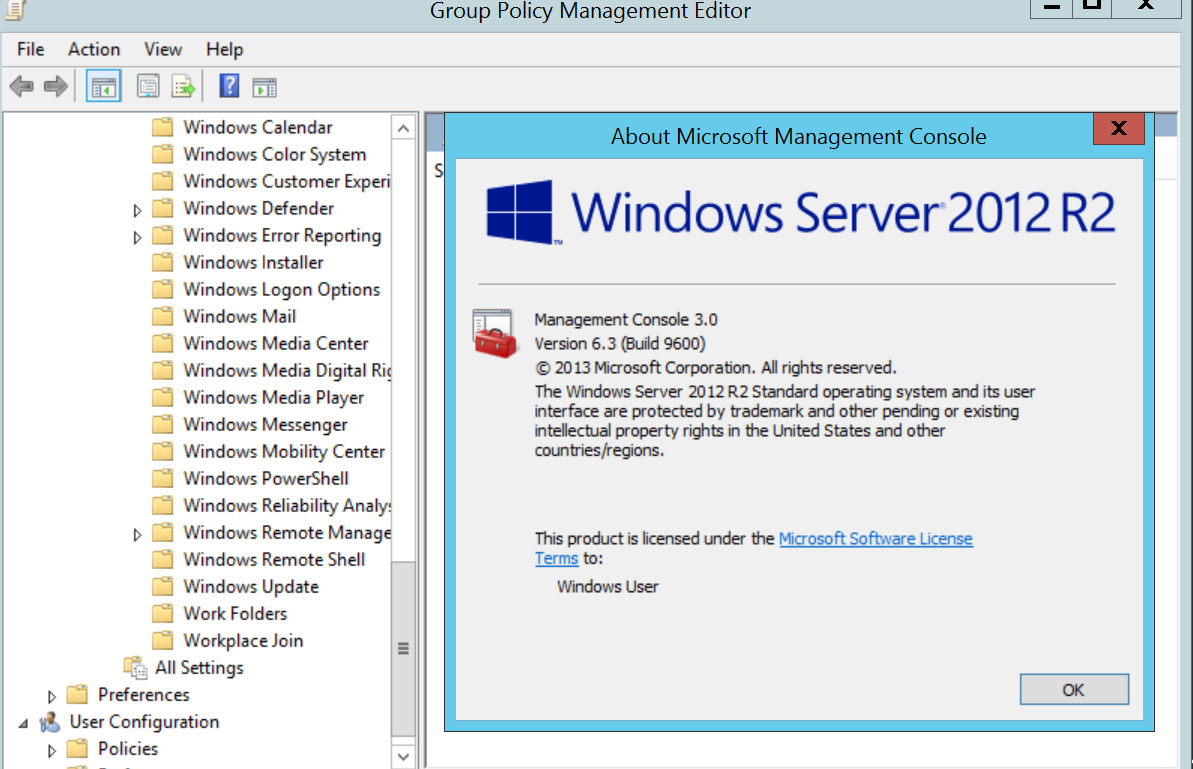 Defender 2012r2 | Manage and Disable Windows Defender Using