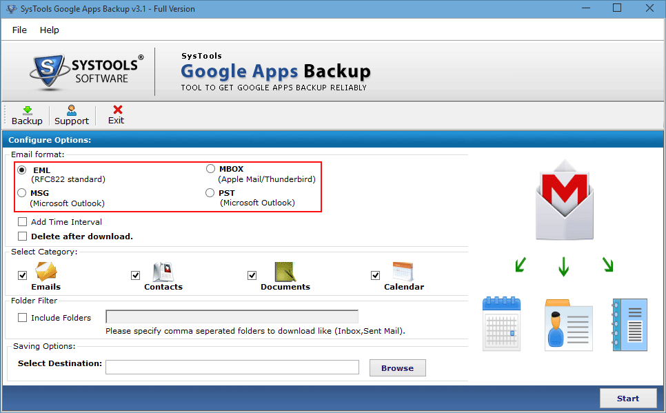 How to Migrate Google Apps to Outlook 2016, 2013, 2010, 2007?