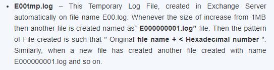 Temp Log file