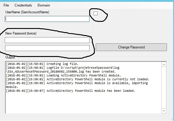 modify powershell gui script i use for change user password