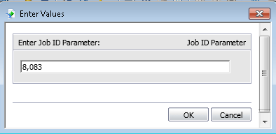 This is a way in Crystal Reports to enter a parameter where the user picks the value to search for.