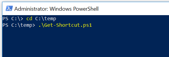 PowerShell-command