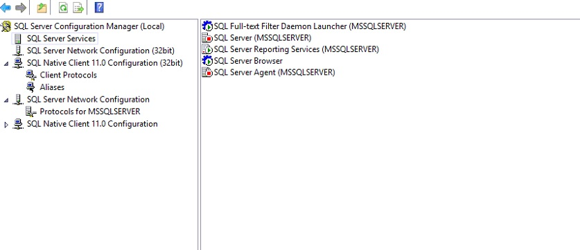 SQL server service keep stopping