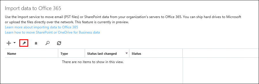Migrate Outlook PST to Office 365 Exchange Online by Azure