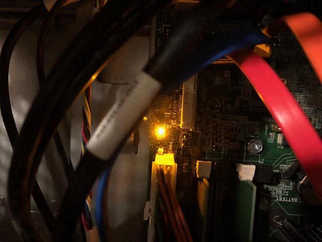 DELL XPS 8700 won't start