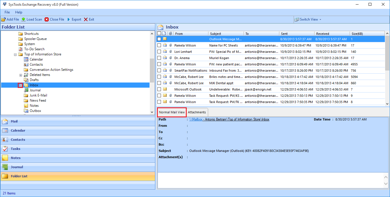 Exchange 2007/10/13/16 - Recover deleted items via Powershell