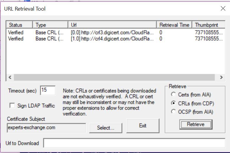 CRl Check GUI