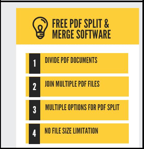 combine and split pdf