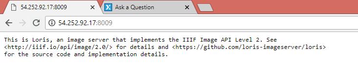 IIIF IMAGE Server