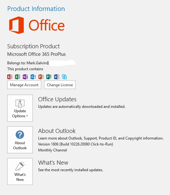 Office 365 Questions