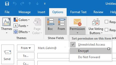 Getting Office 365 Office 365 Message Encryption (OME) to