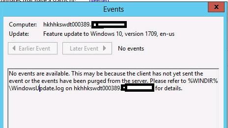 WSUS push update for