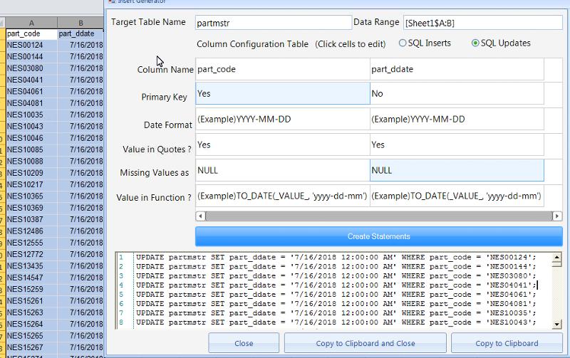 Screenshot of QueryCell