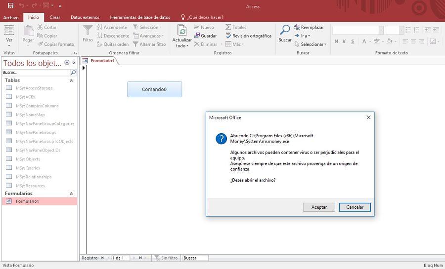 Microsoft Access Questions