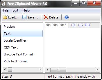 ClipboardViewer Text part