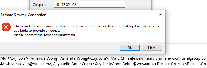 Remote Access Questions