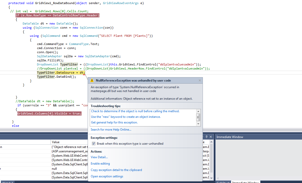 Datatables Settings Object & Screeny