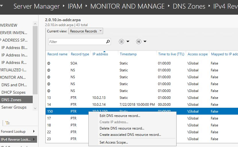 SOLUTION] Can Microsoft Windows Server 2016 IPAM perform